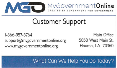 MyGovernmentOnline Card